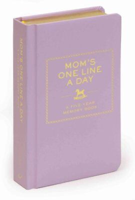 Mom's One Line a Day A Five-Year Memory Book 9780811874908 (Diary, 2010)