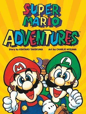 Super Mario Adventures by Kentaro Takemura 9781421588643 (Paperback, 2016)