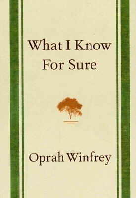 What I Know for Sure by Oprah Winfrey 9781447277668 (Hardback, 2014)