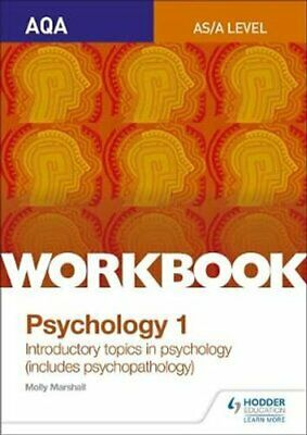 AQA Psychology for A Level Workbook 1 Social Influence, Memory,... 9781471845178