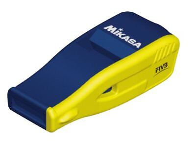 Mikasa whistle Volleyball Referee Made in Japan navy yellow JP