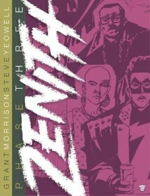 Zenith Phase Three by Grant Morrison 9781781083208 (Hardback, 2015)