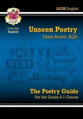 New Grade 9-1 GCSE English Literature AQA Unseen Poetry Guide -... 9781782943648