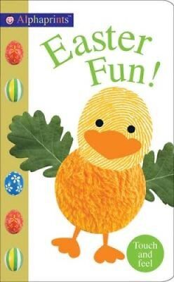 Easter Fun Alphaprints Touch & Feel by Roger Priddy 9781783413690