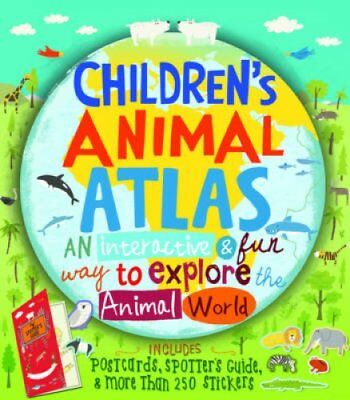 Children's Animal Atlas by Barbara Taylor 9781784932916 (Hardback, 2015)