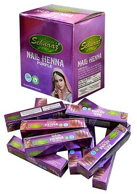 Instant Purple Nail Henna Mehandi Tube from Vimal Golecha Sehnaaz India