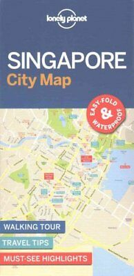 Singapore City Map by Lonely Planet 9781786575074 (Sheet map, folded, 2017)
