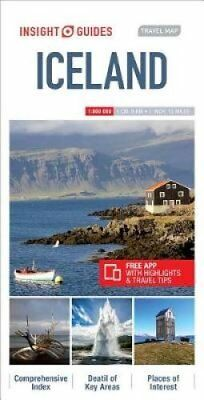 Insight Guides Travel Map Iceland 9781786719249 (Sheet map, 2018)
