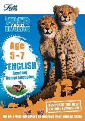 English - Reading Comprehension Age 5-7 (Letts Wild About) by Letts KS1...