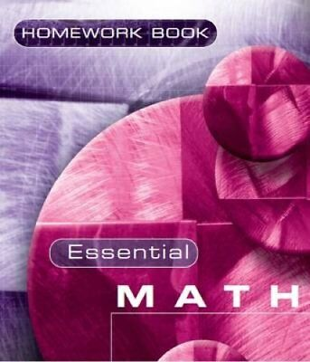 Essential Maths 7c Homework Book by David Rayner 9781906622015 (Paperback, 2008)