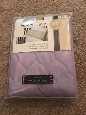 BE basic Waterproof Purple Sheet Saver New