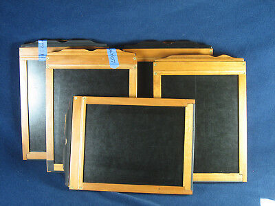 """Modern WHOLE PLATE sheet film holders 6.5x8.5"""" WP - made by S&S - 5 avail. -Xlnt"""
