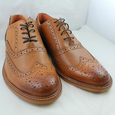 Ask The Missus Tan Leather Formal Shoes