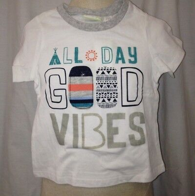 First Impressions Boys Graphic-Print Cotton T-Shirt White Size 24 Months