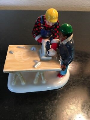 Dept 56 Construction Workers Figurine - Ceramic