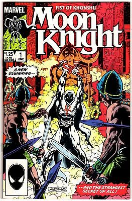Moon Knight: Fist Of Khonshu #1 June 1985 NM-  9.2 Marvel Comics