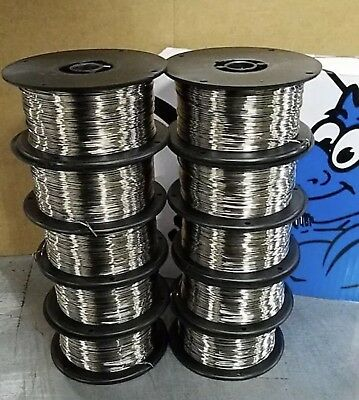 ER308L .035 x 2 lb 10 PK MIG stainless steel welding wire spools Blue Demon