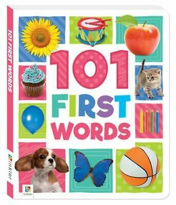 NEW 101 First Words By Hinkler Board Book Free Shipping