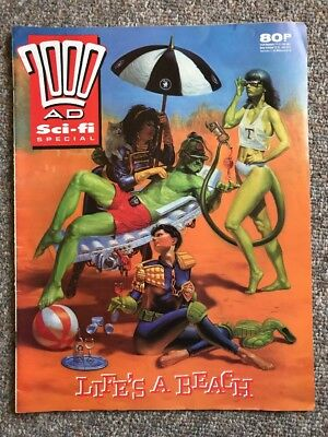 2000 AD Monthly Sci-fi Special 1989 Judge Dredd Comic Prog