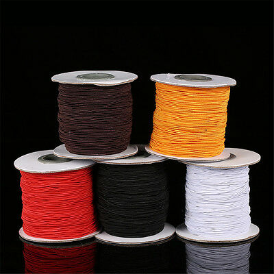 1mm 2mm Elastic Cord Thread For Bracelet Necklace Jewelry Making 5 Metres