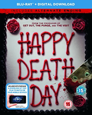 Happy Death Day Blu Ray & Digital Downld  BLU-RAY NEW