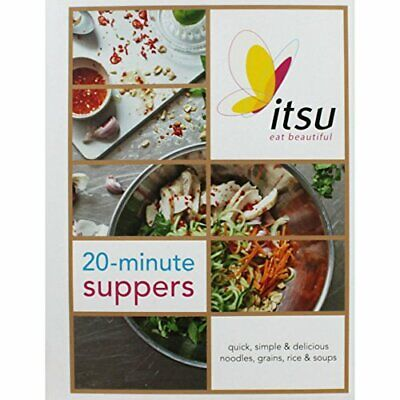 Itsu 20 Minute Suppers Book The Cheap Fast Free Post