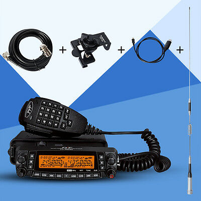 TYT TH-9800 Mobile Radio 50W Dual Band Ham Transceiver VHF UHF 809CH Whole Sets