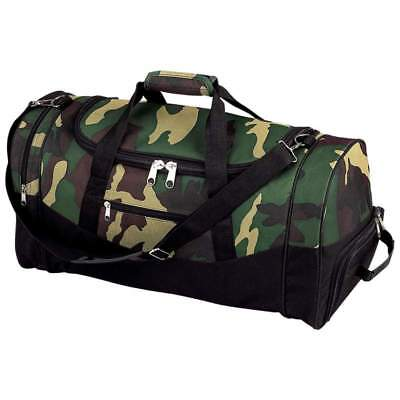 "Wholesale lot of (5) Extreme Pak Camouflage Water-Resistant 23"" Tote Bag"