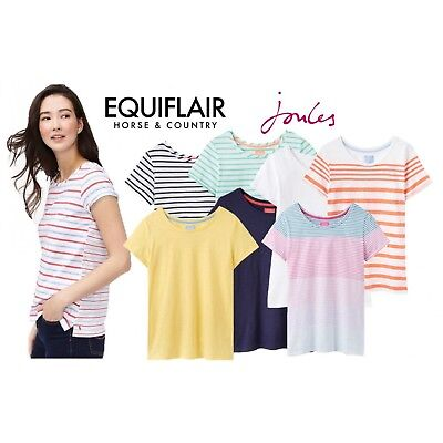 Joules Nessa Lightweight Jersey Ladies T-Shirt Womens