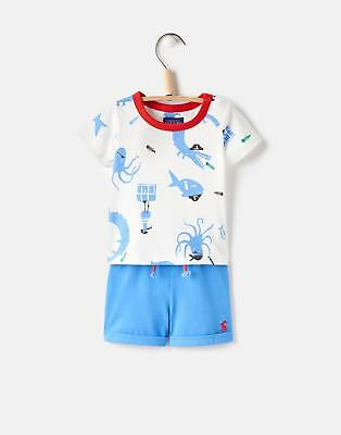Joules 124730 Baby Boys Short Set in Pirate