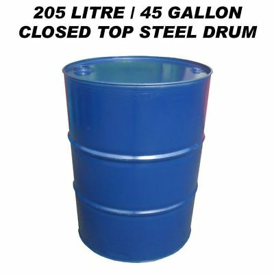205 Litre/45 Gallon Closed Top Steel Drum / Barrel / Container For Diesel