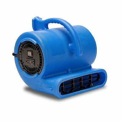 B-Air® Vent VP-33 Water Damage Restoration Air Mover Floor Fan Carpet Dryer Blue
