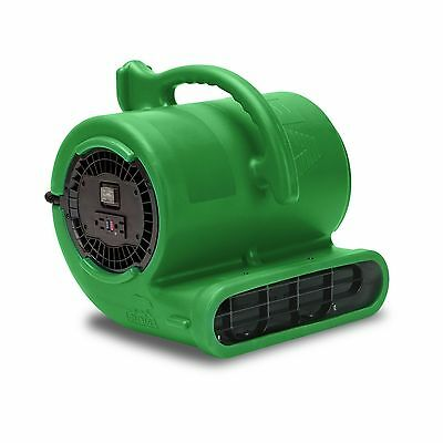 B-Air® Vent VP-33 Water Damage Restoration Air Mover Floor Fan Dryer Green