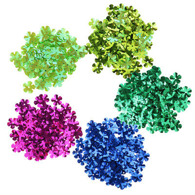 100Pcs Charms Flower Sequins Pailletten Sewing Beads Jewelry Accessories 9mm