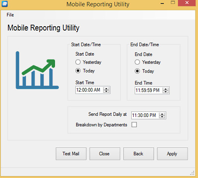 Mobile Reporting Utility for pcAmerica Demo Available