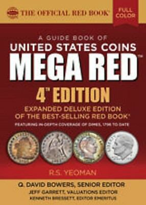 2019 MEGA Deluxe Red Book Of US Coins, 4th Ed., NEW EDITION- REDBOOK
