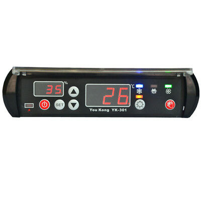 New Temperature Thermostat Refrigerator Digital Controller Dispaly 12V Humidity