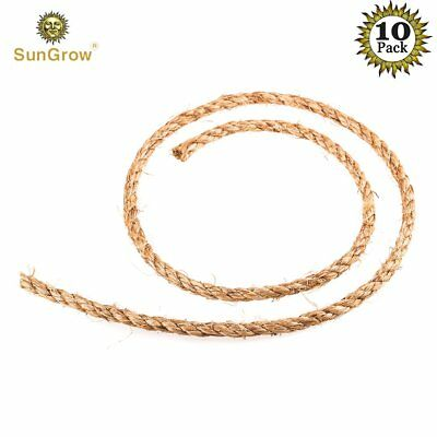 10 Diy Jute Hemp Ropes For Air Plant Orbs - Ruggedness And Stability Ensured - R