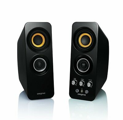 Creative Technology T30 Wireless Bluetooth 3.0, 2.0 Computer Speaker System New