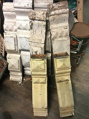 Lot Of 7 Assorted Antique Corbels Primitive Reuse Restoration 😎 Cool