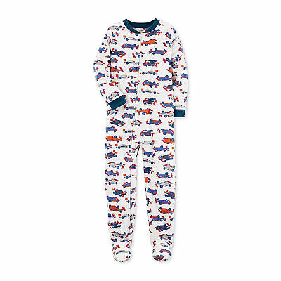 2a0fb8090a4f CARTER S RED ONE Piece Fleece Footed Pajama for Baby Boys ...