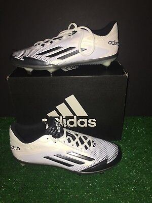 super popular 0d76a 75469 Adidas Adizero Afterburner 2.0 Low Metal Baseball Cleats Mens 10 White  S85704