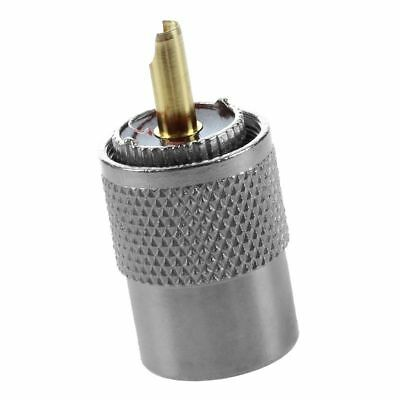 NEW 10 PL259 solder connector plug WITH reducer for RG8X coaxial coax cable B3Y6