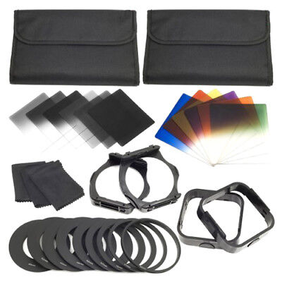 1 set Filters + Ring Adapter FOR cokin p series LF142, 6ND Filters + 6GraduaG9X1