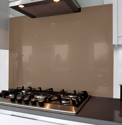 Mocha Glass Splash Back 700 x 745 x 6mm