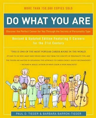 Do What You are: Discover the Perfect Caree... by Barron-Tieger, Barba Paperback