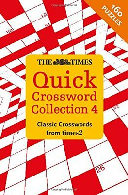 Times Quick Crossword Collection 4 by Times2 Book The Cheap Fast Free Post