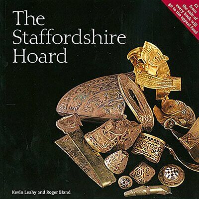 The Staffordshire Hoard by Kevin Leahy Book The Cheap Fast Free Post