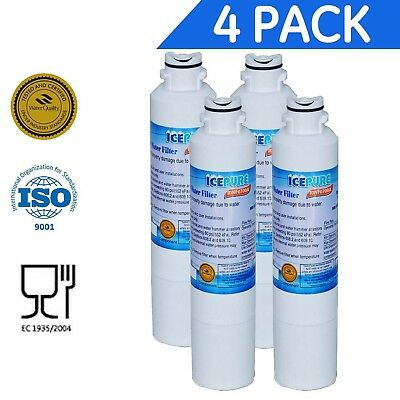 Icepure RWF0700A 4PACK Refrigerator Water Filter Compatible with Samsung DA29...