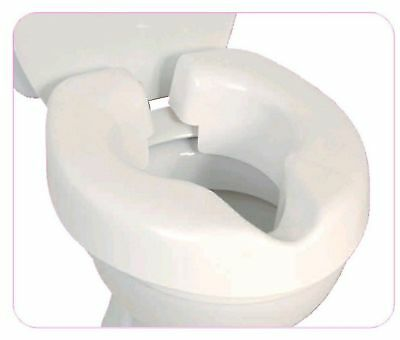 NRS Healthcare F25145 Novelle Portable Clip-On Raised Toilet Seat (Eligible f...